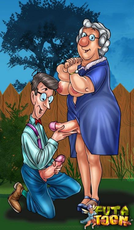 порно бабушки мультики секс